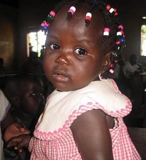 Malaria: Baby Aimee